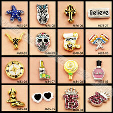 1X 2014 Newest Mini Floating Charms For Glass Living Memory Lockets