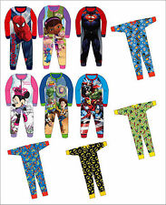 Boys / Girls Official Character Fleece Or Cotton Sleepsuit Onesie Pyjamas