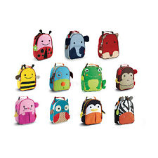 Skip Hop Zoo Lunchies Insulated Food Lunch Bag Food Drinks Sandwich Meal Bag NEW