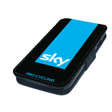 Sky Cycling Printed Faux Leather Flip Phone Cover Case