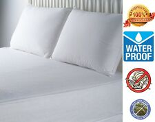 Hypoallergenic Waterproof Microfiber BedBug Zipper Mattress Cover Protector