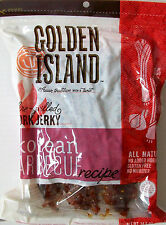 (2 x 14.5 oz) GOLDEN ISLAND ~ PORK JERKY KOREAN BBQ RECIPE GLUTEN FREE