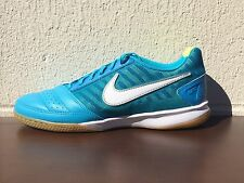 NEW MENS NIKE GATO II INDOOR SOCCER SHOES-SNEAKERS-CURRENT BLUE-VARIOUS SIZES