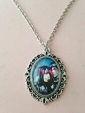 Gorgeous Large Cameo Photo Necklaces - Choose Your Fave Artists *The Bands*