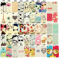 Hot Cute Various Pattern Hard Back Skin Case Cover For Apple Iphone 5/5S