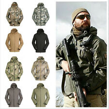 Men Outdoor Hunting Camping Waterproof Coats Jacket Army Coat Outerwear Hoodie