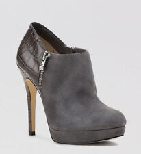 2013 Michael Kors MK YORK Dark Slate Gray Ankle Bootie Boots Shoes 6.5, 9, 9.5