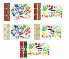 "50 x 11"" Traditional Christmas Tree Decorations Xmas Party Table Crackers"