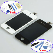 LCD Glass Assembly Touch Screen Digitizer Replacement For iphone 4G GSM TS
