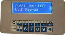 I2C Keypad & 16x2 LCD display Rasperry Pi,  Arduino, 5V and 3.3V Front Panel