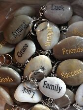 Engraved Keychains with Inspirational Words - Great as Gifts