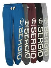 New Sergio Tacchini Mens Fleece Joggers Sweat Pants tracksuit Bottoms vintage