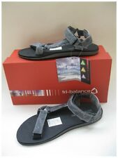 TRI BALANCE  MENS BEACH, SPORTS, CASUAL, VELCRO SANDALS GREY