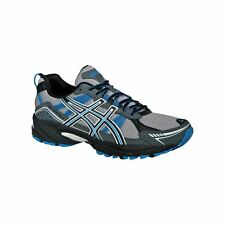 Mens ASICS GEL-Venture 4 Trail Running Shoes Charcoal/Carbon