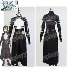Sword Art Online Gun Gale Kirito Cosplay Costume Outfit SAO Uniform GGO Suit Set