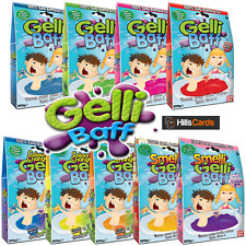 GELLI BAFF: TURN WATER INTO GOO! GREAT FUN - KIDS CHRISTMAS PRESENT - JELLY BATH