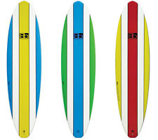 BLACKBOARDS EPOXY MINIMAL SURFBOARD 6'10, 7'2, 7'6, 8 FT Beginner Mini Mal Board