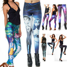 CHESHIRE CAT/Corpse Bride Galaxy Leggings Tights Pants Yoga GothiC Pencil Pants