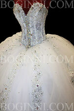 In 2014 the latest custom white/ivory wedding dress 6 + 8 + 10 + 12 + 14 + 16 +