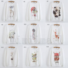 33 models  Korean Women's Fashion Long Sleeve Loose Casual Thin Sweater Tops