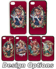 Tattoo Portrait Princess Red - Rubber + Plastic Phone Cover Case Disney Inspired