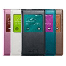 Smart S View Flip PU Leather Wallet cover case for Samsung Galaxy S5 w IC Chip