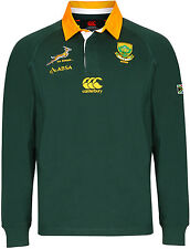 SALE: Canterbury CCC South Africa Home Classic 2012 Green Long Sleeve Jersey