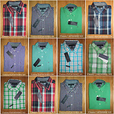 Tommy Hilfiger,Men's short sleeve woven Casual Shirts.