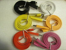 "1 Meter Flat 30 pin USB Data Charging Cable 39"" Cord for iPhone 4s 4 iPad2 3"