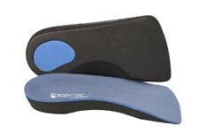 3/4 Orthotic Insoles Arch Supports plantar fasciitis over pronation flat feet