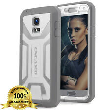 OEM ENCASED® RUGGED DEFENDER CASE + SCREEN PROTECTOR FOR SAMSUNG GALAXY S5 WHITE