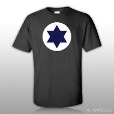 Israeli Air Force Roundel T-Shirt Tee Shirt Free Sticker Israel IAF ISR IL