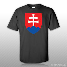 Slovak Air Force Roundel T-Shirt Tee Shirt Free Sticker Slovakia SVK SK