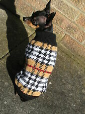 Small dog jumper knitted dog clothes Chihuahua Sweaters jumper XS, S, M