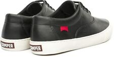 CAMPER BLACK LEATHER MENS STREETWEAR FASHION SHOE RED BOTTOMS 8 9 10 11 12 13