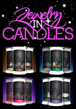 Jewelry In Candles ~ many scents to choose from ~ Sweet Pea, Vanilla, Lilac, etc