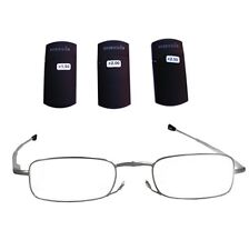 FOSTER GRANT Gideon Magnivision Reading Glasses Folding 1.50 2.00 2.50 New