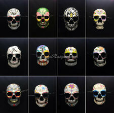 Dia de los Muertos Mens Mask  Day of the Dead Mask Full Face Mens Mask One Size