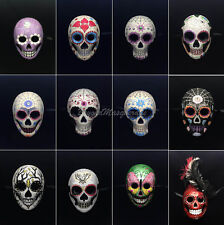Dia de los Muertos Mens Mask  Day of the Dead Mask Full Face Women Mask One Size