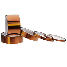 5/10/20/30/50mm X100ft High Temperature Heat Resistant Polyimide Kapton Tape GT