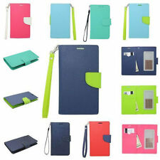 For Nokia CRISIS Leather Wallet Strap Flip Protector Case Cover