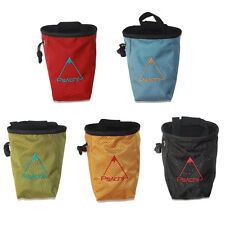 New Psachi Rock Climbing Addict Chalk Bag Rock Climbers Chalk bag with a belt