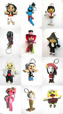 Voodoo String Doll Charter Movie Keychain Ornament Accessory Gift. Set #6
