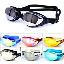 Non-Fogging Anti UV Swimming Swim Goggle Glasses Adjustable Eye Protect Adult