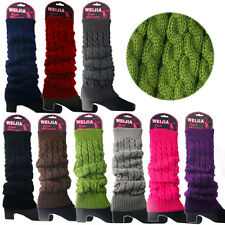Women Winter Warm Knit  High Knee Leg Warmers Crochet Leggings Boot Socks Slouch