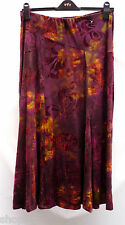 Ladies M&S Per Una Long Maxi Textured Panel Detail Comfy Pull On Skirt New