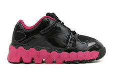 Reebok Mini Zigtech Zigdynamic J86540 New Toddler Baby Black Pink Athletic Shoes