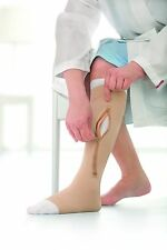 JOBST UlcerCARE Compression Knee High Stocking Support 2-Liner Ulcer Zipper Sock