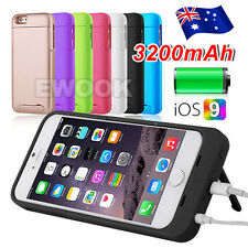 AU 3200mAh Backup External Battery for Apple iPhone 6/S/Plus Charger Case Cover