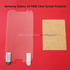 Clear LCD Screen Protector Skin Cover Film for Samsung Galaxy S4 i9500 Lot E1